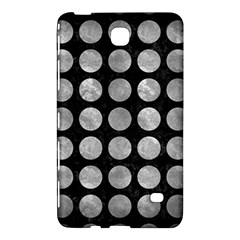 Circles1 Black Marble & Gray Metal 2 Samsung Galaxy Tab 4 (7 ) Hardshell Case  by trendistuff