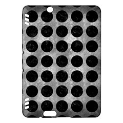 Circles1 Black Marble & Gray Metal 2 (r) Kindle Fire Hdx Hardshell Case by trendistuff