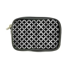 Circles3 Black Marble & Gray Metal 2 Coin Purse by trendistuff