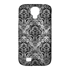 Damask1 Black Marble & Gray Metal 2 (r) Samsung Galaxy S4 Classic Hardshell Case (pc+silicone) by trendistuff