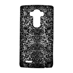 Damask2 Black Marble & Gray Metal 2 (r) Lg G4 Hardshell Case by trendistuff