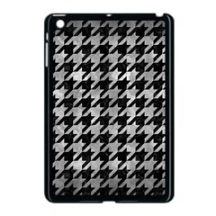Houndstooth1 Black Marble & Gray Metal 2 Apple Ipad Mini Case (black) by trendistuff