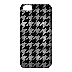 Houndstooth1 Black Marble & Gray Metal 2 Apple Iphone 5c Hardshell Case by trendistuff