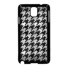 Houndstooth1 Black Marble & Gray Metal 2 Samsung Galaxy Note 3 Neo Hardshell Case (black) by trendistuff
