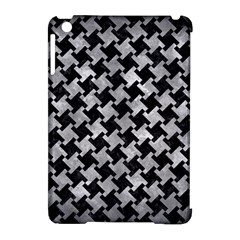 Houndstooth2 Black Marble & Gray Metal 2 Apple Ipad Mini Hardshell Case (compatible With Smart Cover) by trendistuff