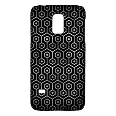 Hexagon1 Black Marble & Gray Metal 2 Galaxy S5 Mini by trendistuff