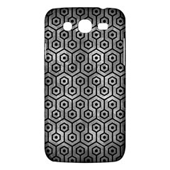 Hexagon1 Black Marble & Gray Metal 2 (r) Samsung Galaxy Mega 5 8 I9152 Hardshell Case  by trendistuff