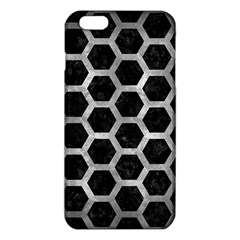 Hexagon2 Black Marble & Gray Metal 2 Iphone 6 Plus/6s Plus Tpu Case by trendistuff