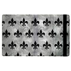 Royal1 Black Marble & Gray Metal 2 Apple Ipad Pro 12 9   Flip Case by trendistuff