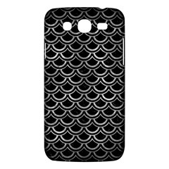 Scales2 Black Marble & Gray Metal 2 Samsung Galaxy Mega 5 8 I9152 Hardshell Case  by trendistuff