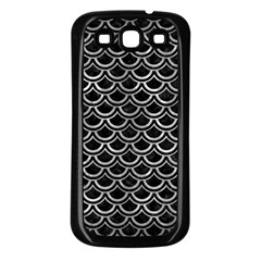 Scales2 Black Marble & Gray Metal 2 Samsung Galaxy S3 Back Case (black)