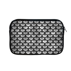 Scales3 Black Marble & Gray Metal 2 (r) Apple Macbook Pro 13  Zipper Case by trendistuff