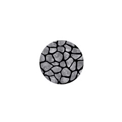 Skin1 Black Marble & Gray Metal 2 1  Mini Buttons