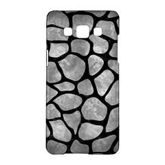 Skin1 Black Marble & Gray Metal 2 Samsung Galaxy A5 Hardshell Case  by trendistuff