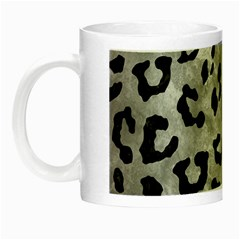 Skin5 Black Marble & Gray Metal 2 Night Luminous Mugs by trendistuff
