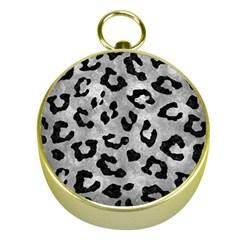 Skin5 Black Marble & Gray Metal 2 Gold Compasses by trendistuff