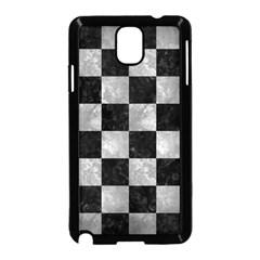Square1 Black Marble & Gray Metal 2 Samsung Galaxy Note 3 Neo Hardshell Case (black) by trendistuff