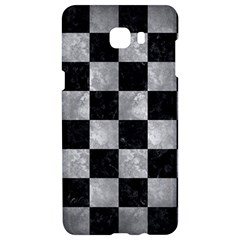 Square1 Black Marble & Gray Metal 2 Samsung C9 Pro Hardshell Case  by trendistuff