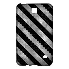 Stripes3 Black Marble & Gray Metal 2 (r) Samsung Galaxy Tab 4 (7 ) Hardshell Case  by trendistuff