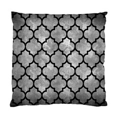 Tile1 Black Marble & Gray Metal 2 (r) Standard Cushion Case (two Sides) by trendistuff