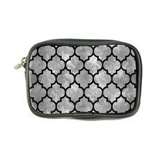 Tile1 Black Marble & Gray Metal 2 (r) Coin Purse by trendistuff