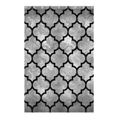 Tile1 Black Marble & Gray Metal 2 (r) Shower Curtain 48  X 72  (small)  by trendistuff
