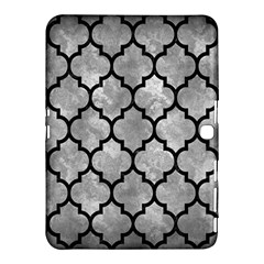 Tile1 Black Marble & Gray Metal 2 (r) Samsung Galaxy Tab 4 (10 1 ) Hardshell Case  by trendistuff
