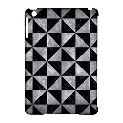 Triangle1 Black Marble & Gray Metal 2 Apple Ipad Mini Hardshell Case (compatible With Smart Cover) by trendistuff