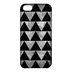 Triangle2 Black Marble & Gray Metal 2 Apple Iphone 5c Hardshell Case by trendistuff