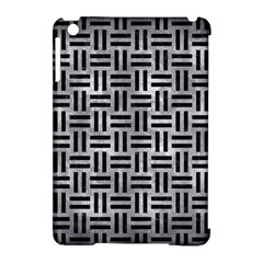 Woven1 Black Marble & Gray Metal 2 (r) Apple Ipad Mini Hardshell Case (compatible With Smart Cover) by trendistuff