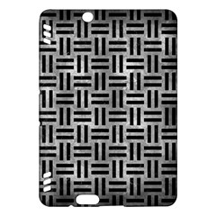 Woven1 Black Marble & Gray Metal 2 (r) Kindle Fire Hdx Hardshell Case by trendistuff
