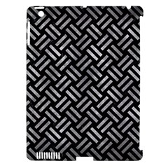 Woven2 Black Marble & Gray Metal 2 Apple Ipad 3/4 Hardshell Case (compatible With Smart Cover) by trendistuff