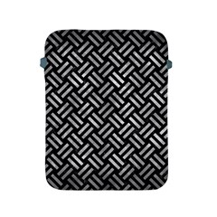 Woven2 Black Marble & Gray Metal 2 Apple Ipad 2/3/4 Protective Soft Cases by trendistuff