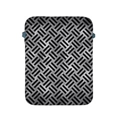 Woven2 Black Marble & Gray Metal 2 (r) Apple Ipad 2/3/4 Protective Soft Cases by trendistuff