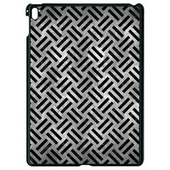 Woven2 Black Marble & Gray Metal 2 (r) Apple Ipad Pro 9 7   Black Seamless Case by trendistuff