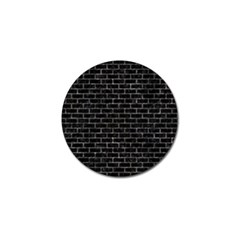Brick1 Black Marble & Gray Stone Golf Ball Marker (10 Pack) by trendistuff