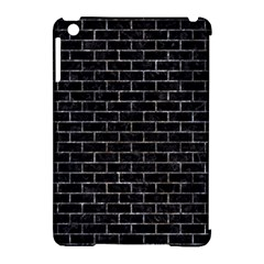 Brick1 Black Marble & Gray Stone Apple Ipad Mini Hardshell Case (compatible With Smart Cover) by trendistuff
