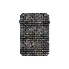 Brick1 Black Marble & Gray Stone (r) Apple Ipad Mini Protective Soft Cases by trendistuff