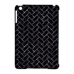 Brick2 Black Marble & Gray Stone Apple Ipad Mini Hardshell Case (compatible With Smart Cover) by trendistuff