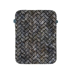 Brick2 Black Marble & Gray Stone (r) Apple Ipad 2/3/4 Protective Soft Cases by trendistuff