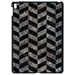 Chevron1 Black Marble & Gray Stone Apple Ipad Pro 9 7   Black Seamless Case by trendistuff