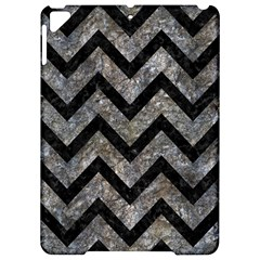 Chevron9 Black Marble & Gray Stone (r) Apple Ipad Pro 9 7   Hardshell Case by trendistuff