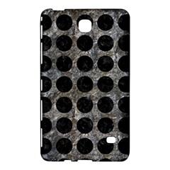 Circles1 Black Marble & Gray Stone (r) Samsung Galaxy Tab 4 (7 ) Hardshell Case  by trendistuff