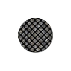Circles2 Black Marble & Gray Stone Golf Ball Marker (10 Pack) by trendistuff