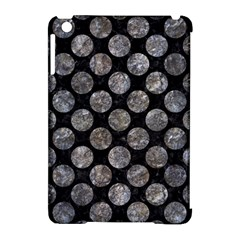 Circles2 Black Marble & Gray Stone Apple Ipad Mini Hardshell Case (compatible With Smart Cover) by trendistuff