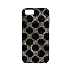 Circles2 Black Marble & Gray Stone (r) Apple Iphone 5 Classic Hardshell Case (pc+silicone) by trendistuff
