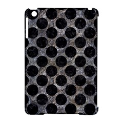 Circles2 Black Marble & Gray Stone (r) Apple Ipad Mini Hardshell Case (compatible With Smart Cover) by trendistuff