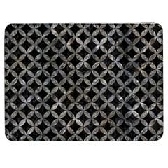 Circles3 Black Marble & Gray Stone Samsung Galaxy Tab 7  P1000 Flip Case by trendistuff