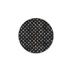 Circles3 Black Marble & Gray Stone (r) Golf Ball Marker (10 Pack) by trendistuff