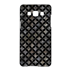 Circles3 Black Marble & Gray Stone (r) Samsung Galaxy A5 Hardshell Case